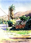 John Stewart Art - Laguna Canyon Palm by John Norman Stewart