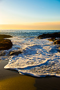 Beach Photograph Prints - Laguna Sunset Print by Kelly Wade