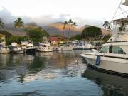 Lahaina Prints - Lahaina Bay Print by John Rushing