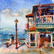 Paintout Prints - Lahaina Hawaii Print by Yevgenia Watts