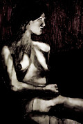 Nudes Digital Art - Laid Back by David Patterson