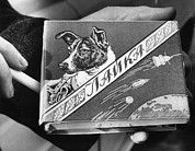 Smoking Book Posters - Laika The Russian Space Dog, First Poster by Everett