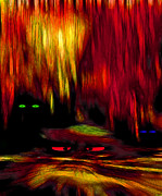 Paranormal  Mixed Media - Lair 2 - Pop Art by Steve Ohlsen