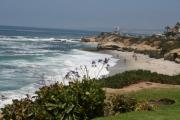 Lajolla Metal Prints - LaJolla Seaside Metal Print by Kevin Igo