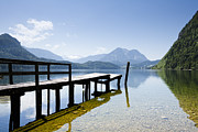 Styria Photos - Lake Altausseer See by Jorg Greuel