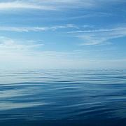Lake Superior - Lake and Sky by Michelle Calkins