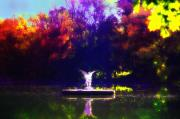 Angel Digital Art - Lake Angel St. Marys Ambler by Bill Cannon