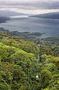 Tram Prints - Lake Arenal Scenic Print by Matt Tilghman