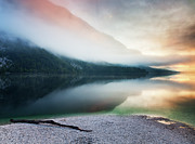 Slovenia Photos - Lake Bohinj by John and Tina Reid