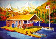 Canoe Originals - Lake Cabin by Buster Dight