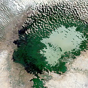 Dry Lake Photos - Lake Chad by Planetobserver