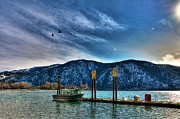 Lake Chelan Prints - Lake Chelan Patrol Print by Spencer McDonald