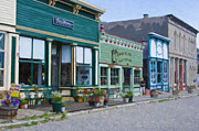 Victorian Town Digital Art - Lake City Colorado by Steve Bailey