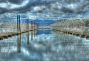 Idaho Prints - Lake Coeur dAlene Print by Tracy Thomas