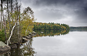 """adirondack Park""  Photo Posters - Lake Colby in the Adirondack Mountains - New York Poster by Brendan Reals"