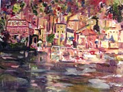 Strength Paintings - Lake Como by Beverly A Smith