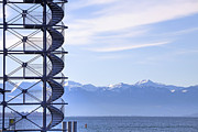 Lookout Prints - Lake Constance Friedrichshafen Print by Joana Kruse