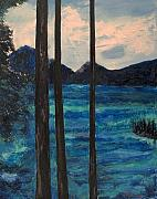Cushman Posters - Lake Cushman Poster by Richard Beauregard