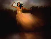 Dancer Digital Art - Lake Dancer by Robert Foster