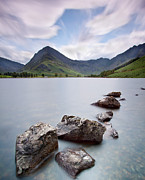 District Framed Prints - Lake District Framed Print by By Dougie Williams