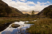 Pond Reflection Prints - Lake District Reflections Print by Justin Albrecht