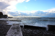 Kevin Schrader Metal Prints - Lake Erie Fall Metal Print by Kevin Schrader