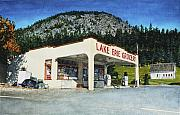 Grocery Store Prints - Lake Erie Grocery Print by Perry Woodfin