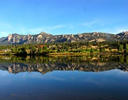 Y120817 Art - Lake Estes by Sandra Leidholdt
