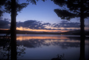 Connecticut Prints - Lake Francis Twilight Print by John Burk