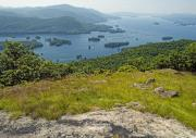 Adirondack Lake Prints - Lake George from the Tongue Mountain Range New York  Print by Brendan Reals