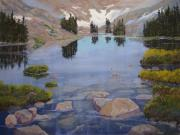 National Pastels Originals - Lake Helene by Heather Coen