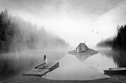 Lake House Print by Matt Hanson