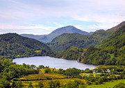 Hill Top Village Prints - Lake in Snowdonia Print by Svetlana Sewell