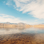 Y120817 Art - Lake Isabella by Copyright Laura Evans. All Rights Reserved.