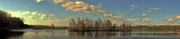 Panoramic Digital Art Originals - Lake Lafayette in HDR Panoramic by Frank Feliciano