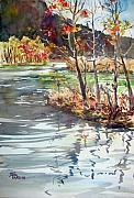 Lake Leatherwood No. 4 Print by Sheila Parsons