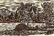 Lake Leek Print by Al Goldfarb