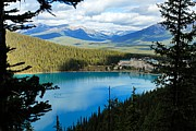 Banff National Park Photos - Lake Louise Chalet by Larry Ricker