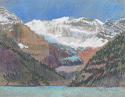 Canada Pastels - Lake Louise by Reif Erickson