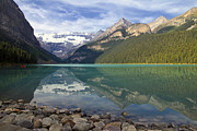 Lake Louise Splendour Print by Teresa Zieba