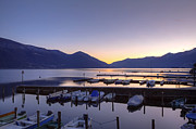 Boats Photos - Lake Maggiore - Ascona by Joana Kruse