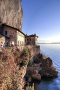 Santa Photo Metal Prints - Lake Maggiore Santa Caterina del Sasso Metal Print by Joana Kruse