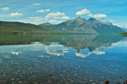 Lake Mcdonald Framed Prints - Lake McDonald Framed Print by Michael Peychich