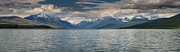 Lake Mcdonald Prints - Lake McDonald Panorama Print by Greg Nyquist