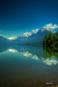 Lake Mcdonald Prints - Lake McDonald Print by Patrick Quinn