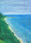 Lisa Dionne Art - Lake Michigan by Lisa Dionne