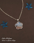 Michigan Jewelry - Lake Michigan by Melissa Huber