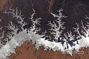 From Above Photos - Lake Nasser, Egypt by NASA/Science Source