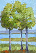 Jean Scanlin Wright - Lake Oconee View