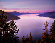 Lake Pend Oreille Prints - Lake Pend Oreille 2 Print by Leland Howard